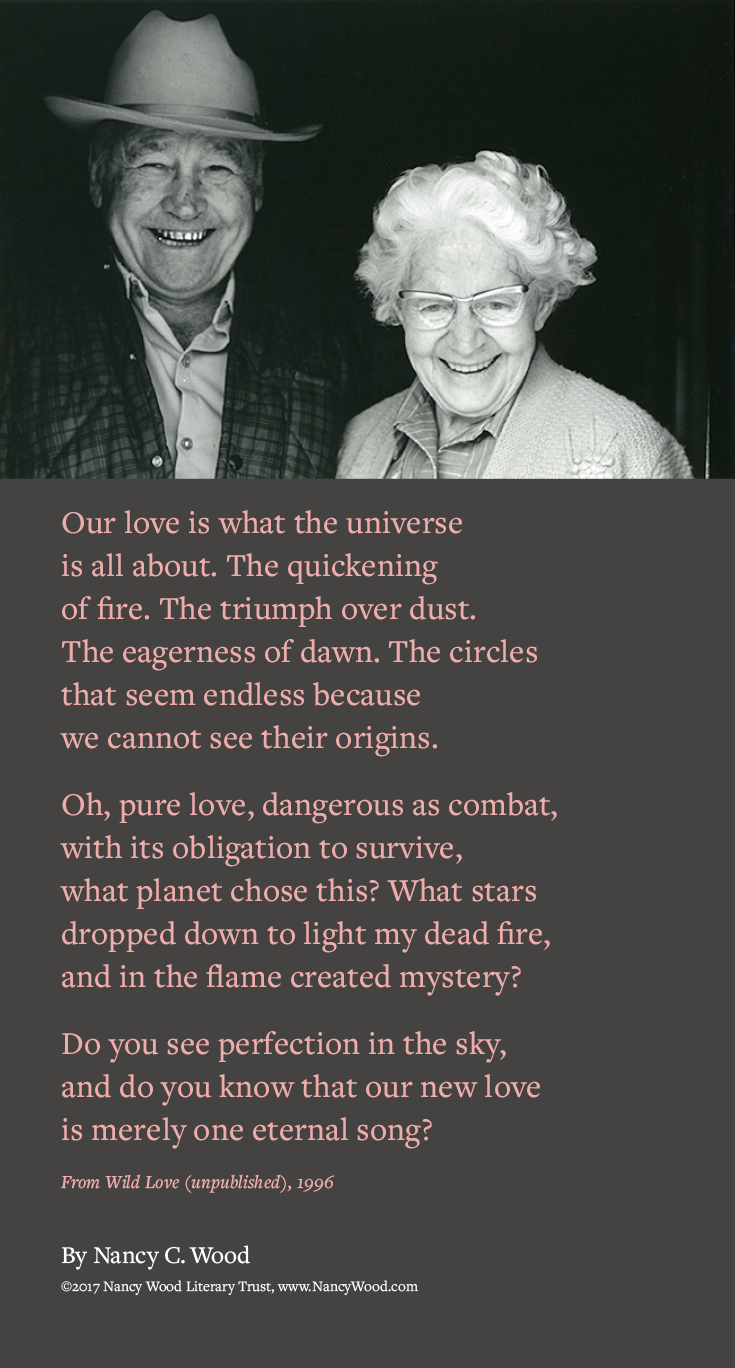 Nancy Wood poem poster 15: Eternal Song