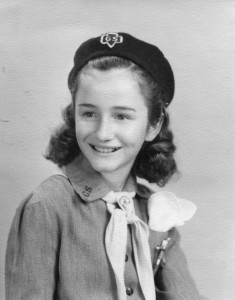 Nancy Wood, Girl Scout 1948