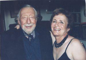 Richard Erdoes and Nancy, 1998